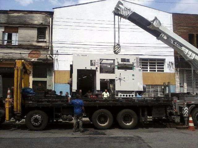Içamento de equipamentos pesados
