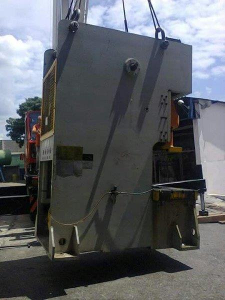 Mudança de equipamentos pesados