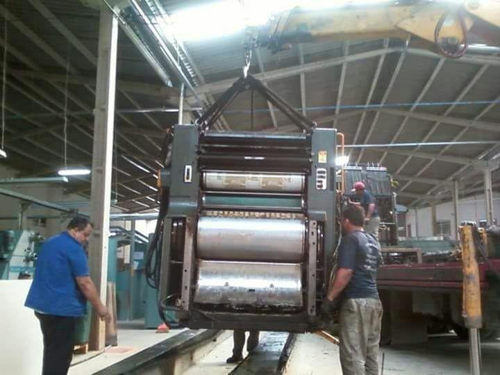 Remoção de máquinas pesadas