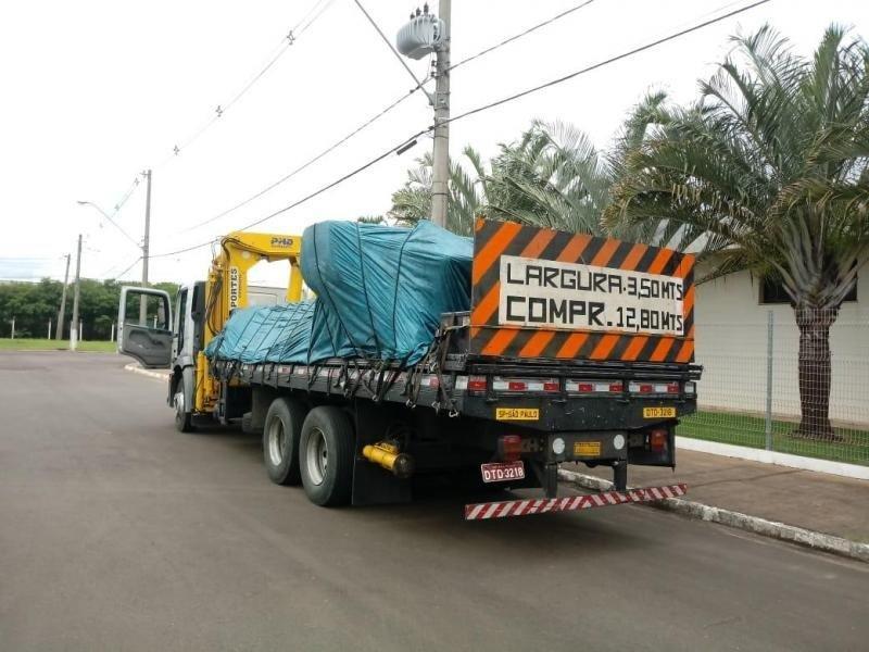 Transportadora de máquinas pesadas