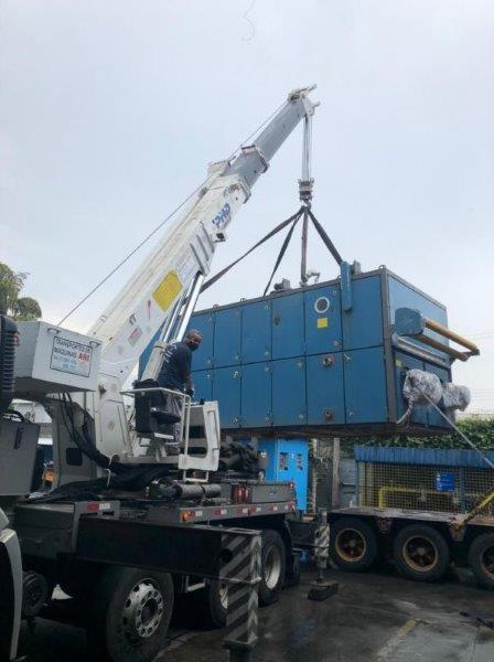 Transportes pesados de carga são paulo